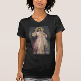 Misericordia divina camisetas