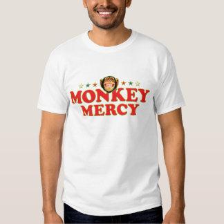 Misericordia enrrollada del mono camisas