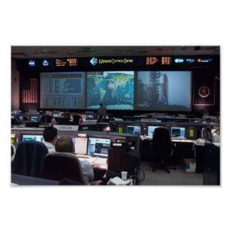 Misión Control Center (STS-110) Posters