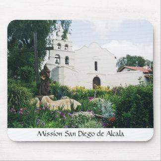 Misión San Diego de Alcala Alfombrilla De Ratón