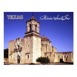 Misión San José San Antonio Tejas Postal