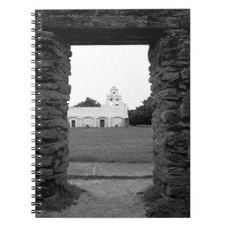 Misión San Juan - San Antonio, Tejas - cuaderno