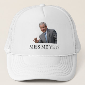 ¿Miss Me todavía? Gorra blanco