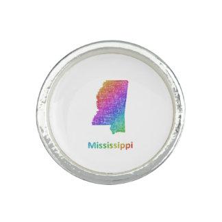 Mississippi Anillos Con Foto