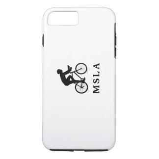 Missoula Montana que completa un ciclo MSLA Funda iPhone 7 Plus