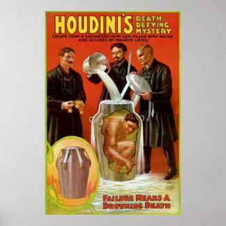 houdini muerte: