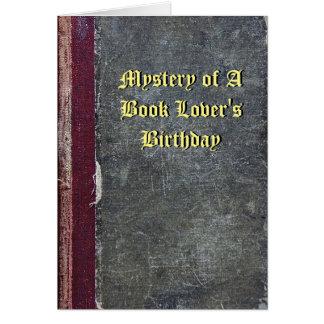 Misterio de la tarjeta del cumpleaños de un