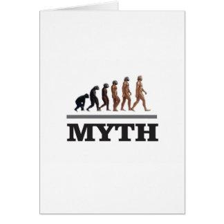 mito del mono tarjeta
