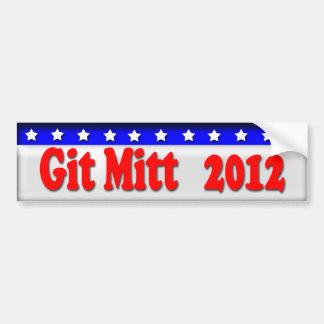 Mitt Romney 2012 Etiqueta De Parachoque