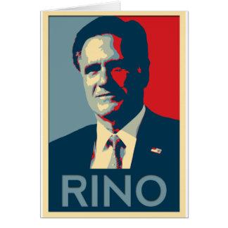 Mitt Romney - RINO Tarjetas