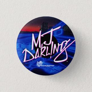 ¡MJ Darl! botón del ng (Nightrider)
