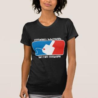 MLB: Trituradora del botón de la primera división Camisetas