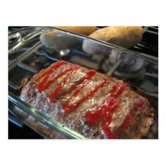 ¡Mmmmm, pan con carne! Tarjeta de la receta
