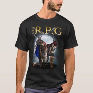 mmorpg - M.M.O.R.P.G - camiseta de la fan del