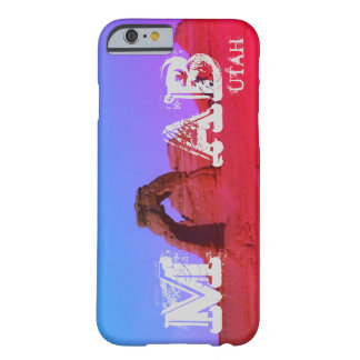 Moab, Utah arquea el parque nacional Funda Barely There iPhone 6