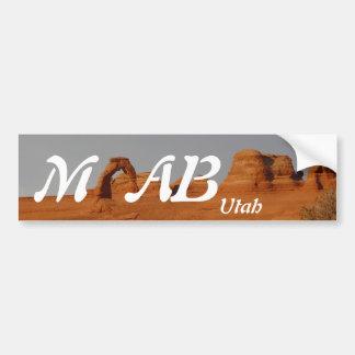 Moab, Utah Pegatina Para Coche