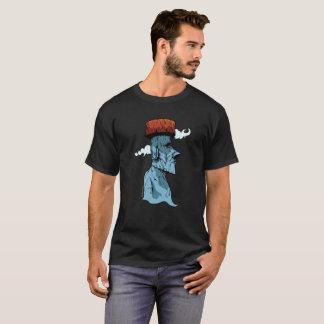 Moai soña la camiseta