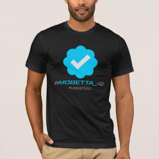 @MoBetta_42 - Verificado - negro Camiseta