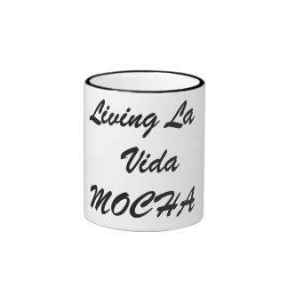 Moca de Vida del la de Livin \ taza de café