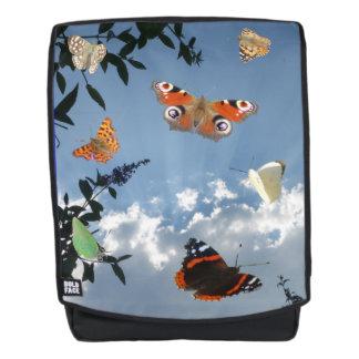 Mochila adulta de las mariposas holandesas
