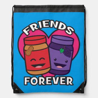 Mochila Amigos para siempre - mantequilla de cacahuete y