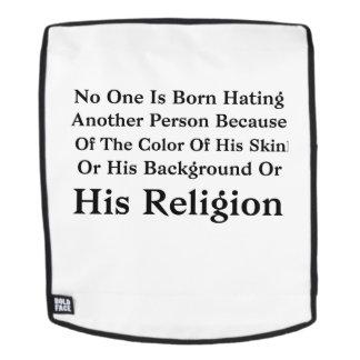 Mochila Barack Obama nadie nace odiando otra persona