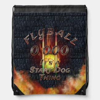 Mochila Con Cordones 0,000 Flyball Flamz: ¡Es una cosa del perro del