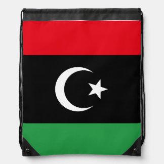 Mochila Con Cordones Bandera de Libia