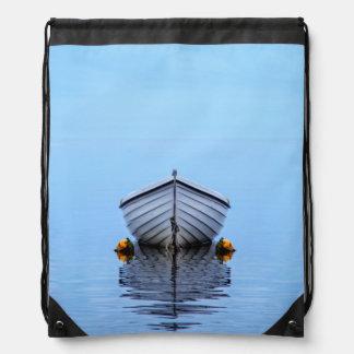 Mochila Con Cordones Barco solitario