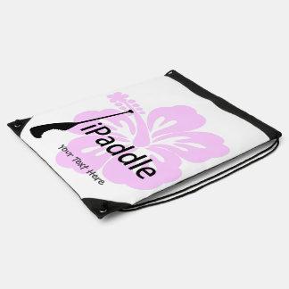 Mochila Con Cordones bolso del iPaddle