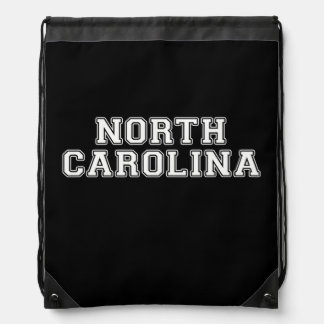 Mochila Con Cordones Carolina del Norte