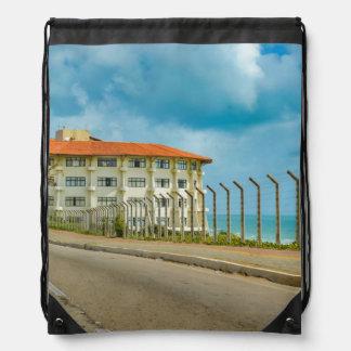 Mochila Con Cordones Estilo ecléctico que construye el Brasil natal