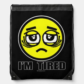 Mochila Con Cordones Estoy cansado