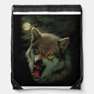 Mochila Con Cordones Luna del lobo