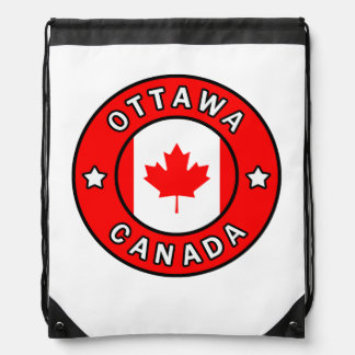 Mochila Con Cordones Ottawa Canadá