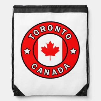 Mochila Con Cordones Toronto Canadá