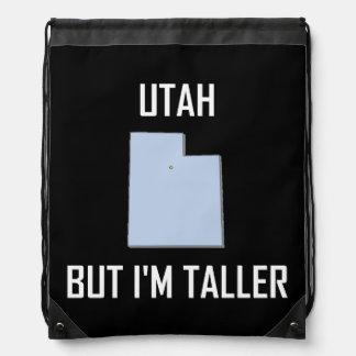 Mochila Con Cordones Utah pero yo es más altos