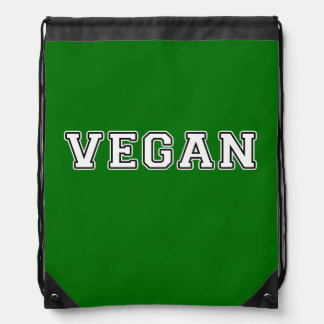 Mochila Con Cordones Vegano