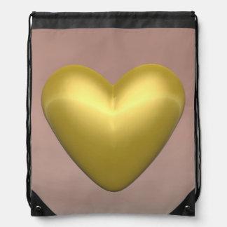 Mochila Corazón de oro - 3D rinden