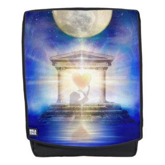 Mochila Corazón del templo de la luna V058