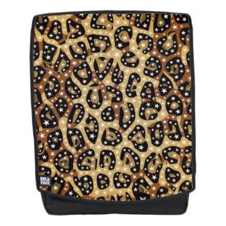 Mochila de la impresión del guepardo