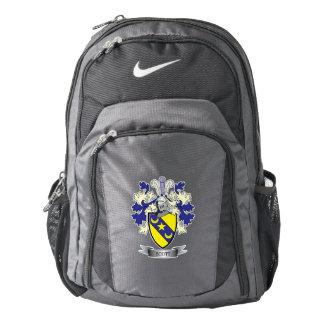 Mochila De Nike Escudo de armas del escudo de la familia de Scott