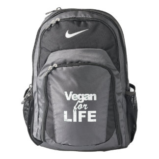 Mochila De Nike Vegano para la VIDA (blanca)