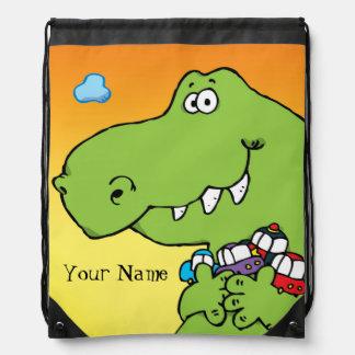 Mochila del dibujo animado de Dino
