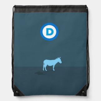 Mochila del lazo de Demócrata