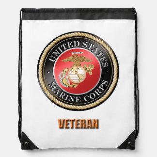 Mochila del lazo del veterano del USMC