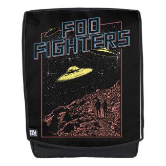 Mochila del UFO de los combatientes de Foo