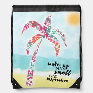 Mochila despierte y huela la inspiración, la playa y la