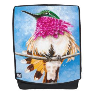 Mochila El colibrí de la costa