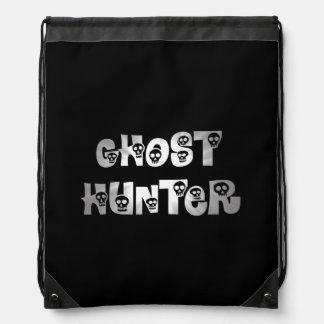 Mochila gris del cazador del fantasma de los cráne